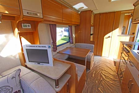 Coachman Laser 620 Rear view