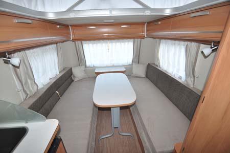 Eriba Touring 540GT - Dining