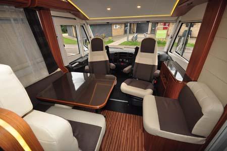 Adria Sonic Plus I 700 SC motorhome interior 2