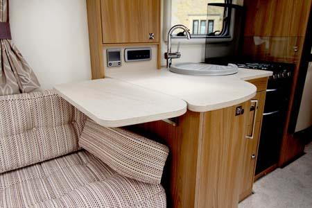 Bailey Madrid Kitchen flip up work surface 2