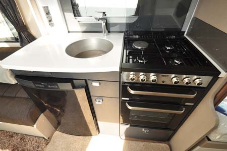 Sterling Continental 565 Kitchen