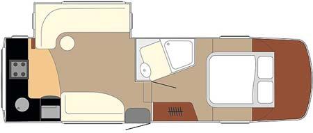 Fifth Wheel Celtic Rambler Floor plan