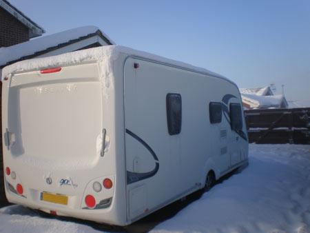 Top 15 caravan winter checks