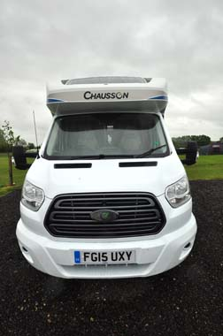 Chausson Flash 610 Exterior Front