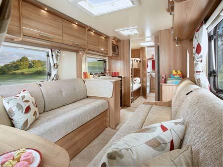 Pegasus Ancona interior (Richmond upholstery)
