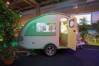 World record LEGO caravan