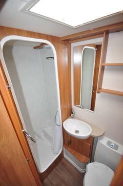Sprite Freedom 6TD washroom
