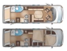 Itineo SB700 floorplan
