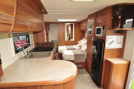 Buccaneer Clipper Caravan Interior 1