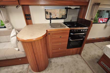 Buccaneer Clipper Caravan Kitchen