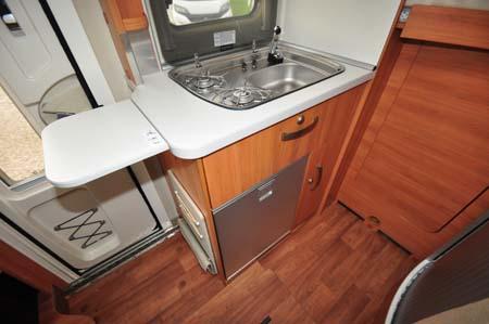 Hymer Van 314 Kitchen