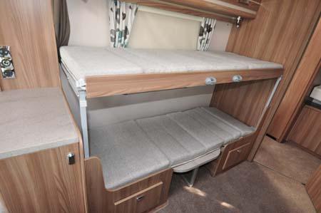 Swift Challenger 530 Bunk Beds