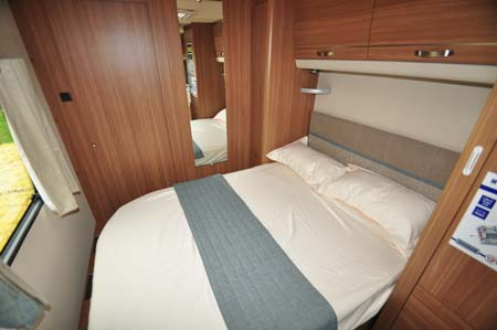 Coachman Laser 650 Bedroom
