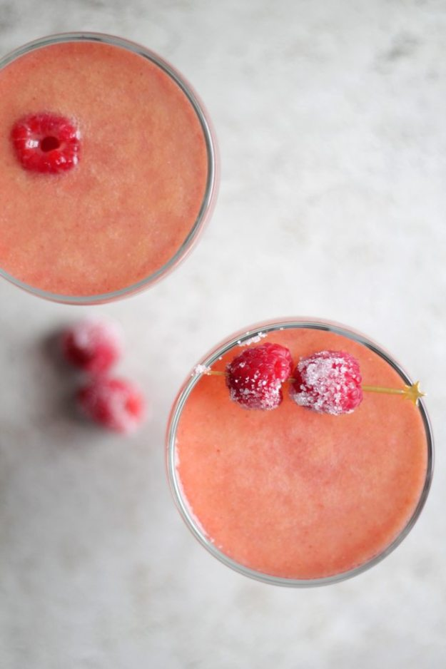 chicago summer, raspberry fool cocktail, raspberry cocktail, raspberry champagne