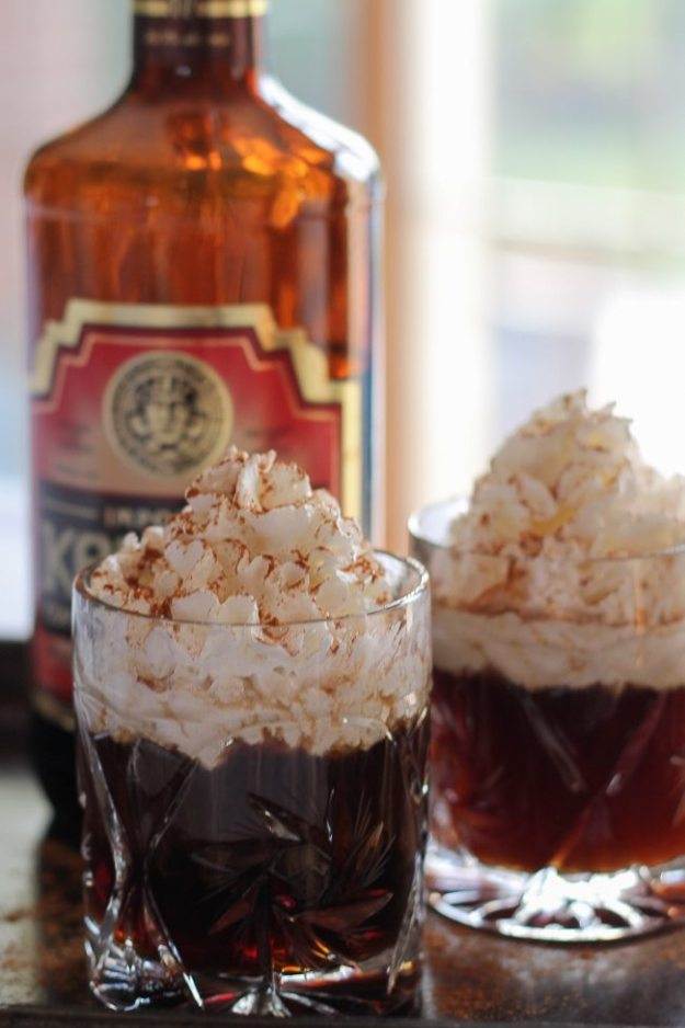 alps coffee, coffee liqueur, coffee drinks, winter cocktail, coffee ...