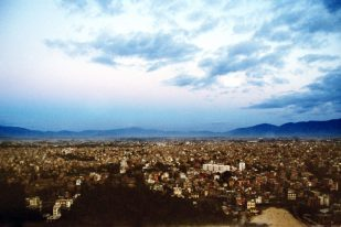 Kathmandu city overview