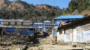 Tea houses at Ghorepani