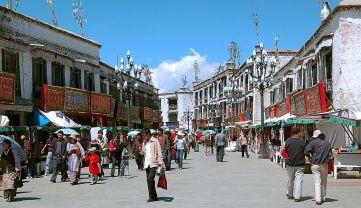 Barkhor Street Market