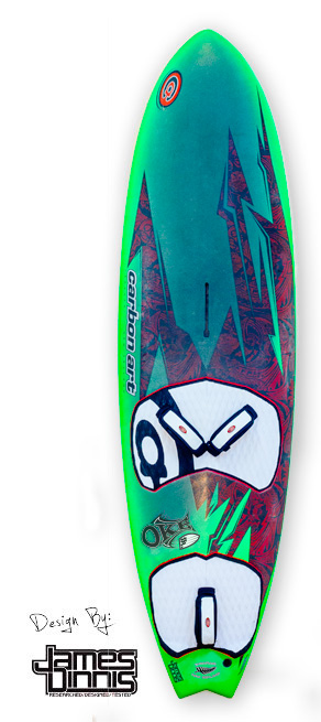 new stubby windsurf wave board