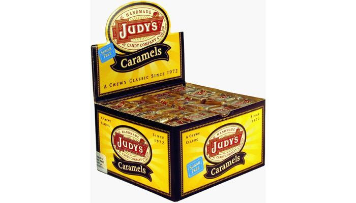 Sugar Free Chocolate Caramels Box of 80 Caramels by Judy's Candy Co.