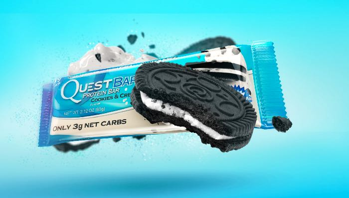 Quest Nutrition Cookies and Cream Bars
