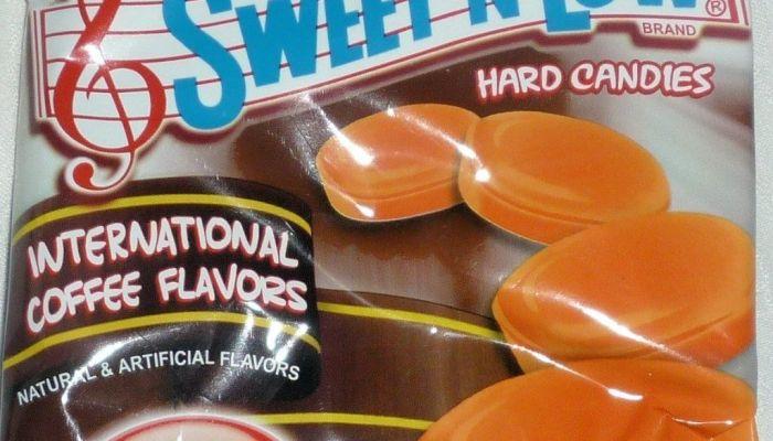 Sweet'N Low International Coffee Flavors Hard Candy