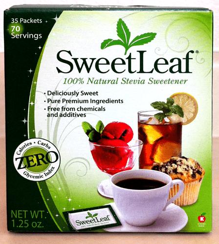SweetLeaf Stevia 100% Natural Sweetener – 35 Packets – 70 Serving Box