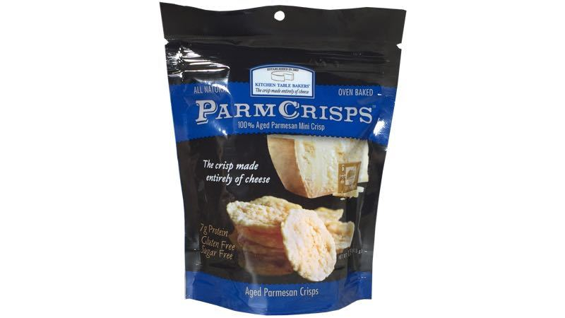 ParmCrisps – 100% Aged Parmesan Mini Crisps 1.75 oz. bag by Kitchen Table Bakers