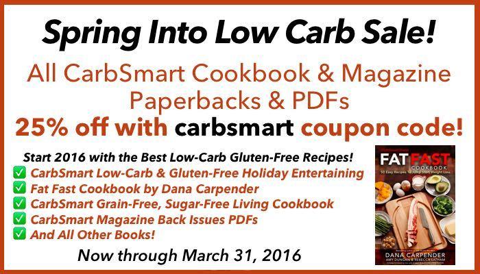 CarbSmart Spring Into Low Carb Sale
