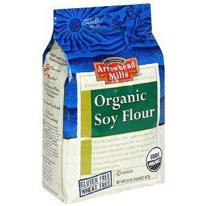 Arrowhead Mills Certified Organic Soy Flour 22 oz.
