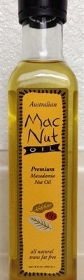 Australian Macadamia Nut Oil 250 ml