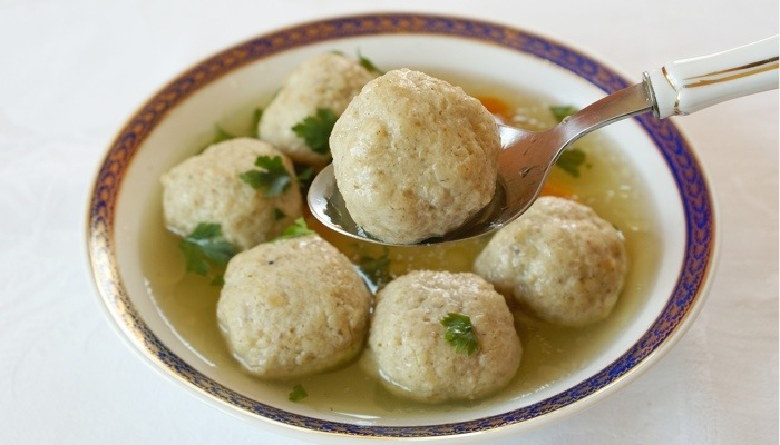 Lower Carb Matzo Balls for Chicken Soup Passover Recipe (NOT KOSHER)