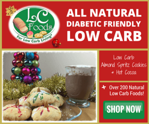 LC-Foods Christmas Low Carb Almond Spritz Cookies