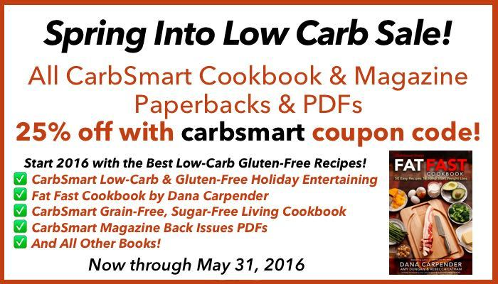 CarbSmart Spring Into Low Carb Sale
