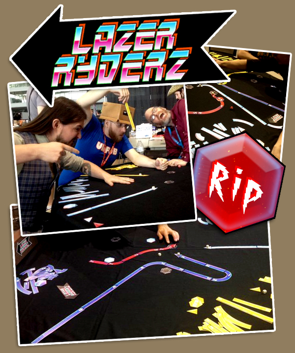 Christopher Badell and Douglas Morse playing Lazer Ryderz with Anthony!