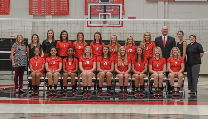 2016 Volleyball Team photo