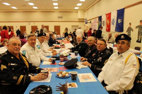 Highlights from DCC Veterans Day Breakfast