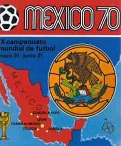 Panini World Cup 1970 Mexico 70 stickers album