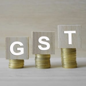 GST - GST Letters with Coins