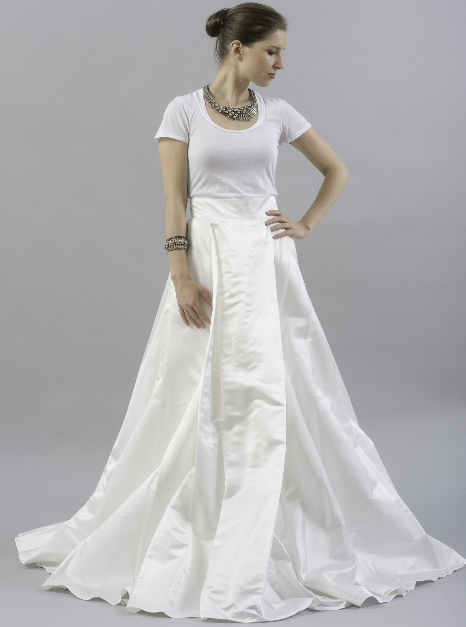 modern wedding dresses for the contemporary bride simple white wedding dresses Modern Wedding Dresses For the Contemporary Bride
