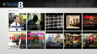 Ver videos de Youtube desde el escritorio de Windows 8 con Youtube8