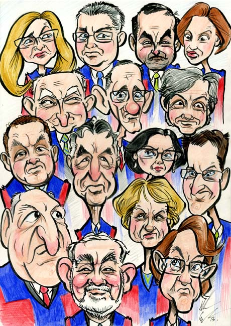 Members of Galway City Council Portrait