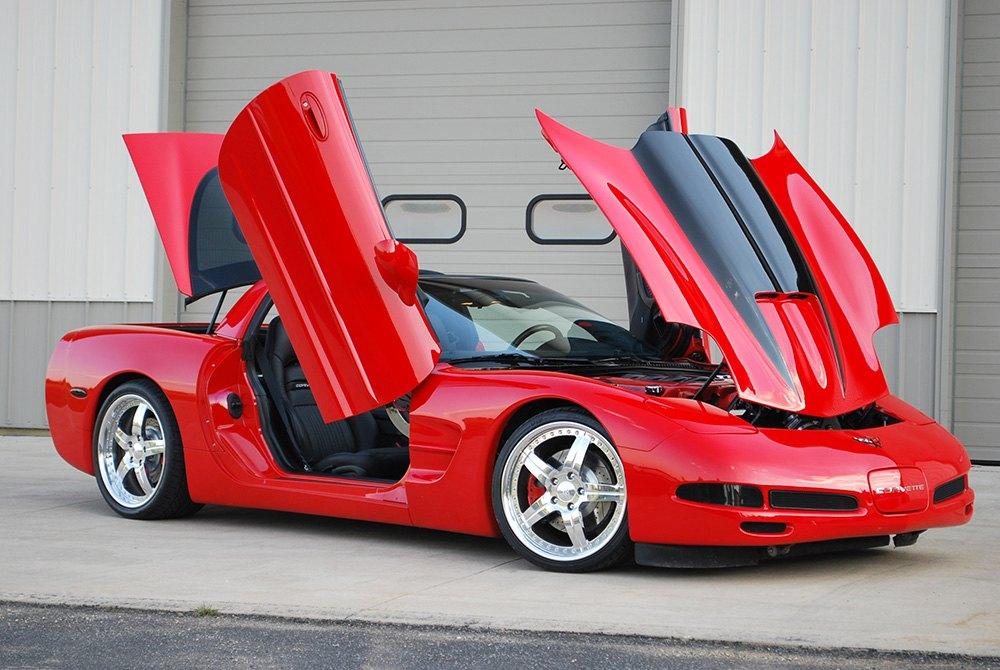 ... Vertical Doors Chevy Corvette Lambo
