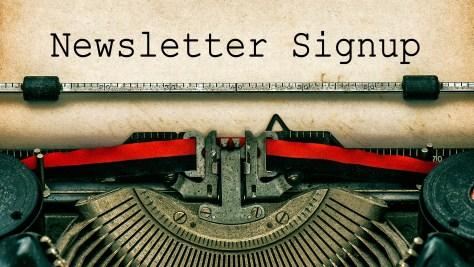 Caridad Newsletter Sign-up