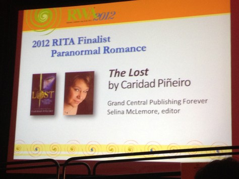 RITA Award Nomination
