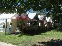 Summer Tents in Ocean Grove