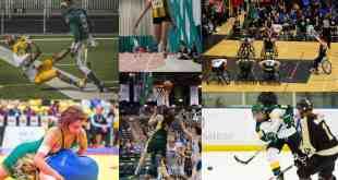 Some of the best shots of this sports year./ Composited by Brett Nielsen