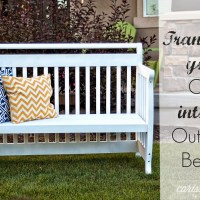 Crib to Bench Transformation