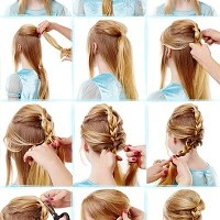 Easy FROZEN hair tutorials