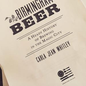 Birmingham Beer title page